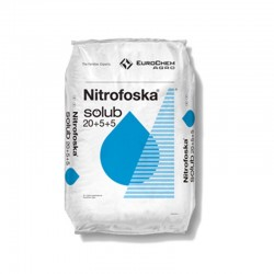 NITROFOSKA SOLUB 20-5-5  25 KG.