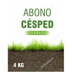 ABONO CESPED 21-5-6      4 KG.