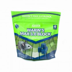 WARIN´S MAX BLOCK 3.0  250 g (Expositor 24 u)
